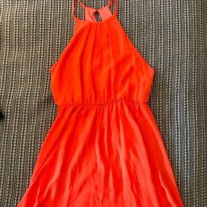 Dresses & Skirts - Orange Mini Dress
